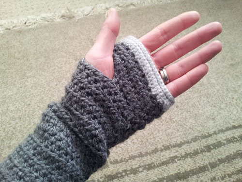 Crochet Fingerless Gloves Jo Bund