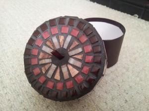 mosaic trinket box