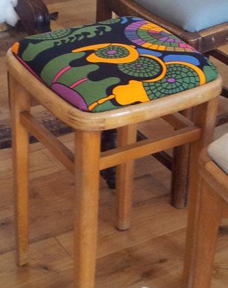 upholstery stool
