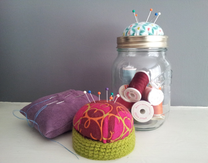 Various pin cushions