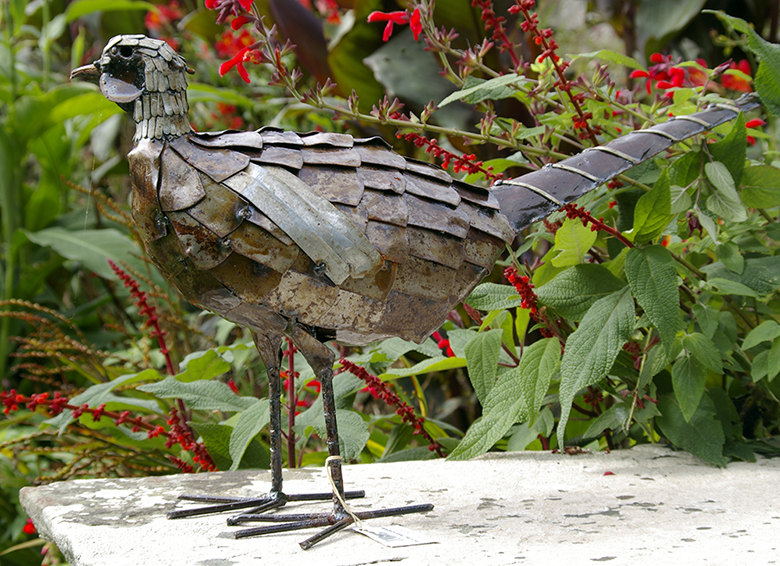 Bird-sculpture