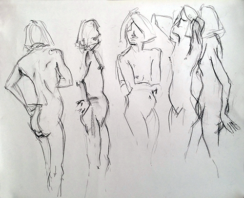 female-5quick-sketches